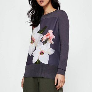 Ted Baker Jiosefi Chatsworth Woven Front Jumper